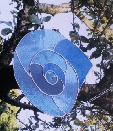 Ammonite Garden Hanging Panel