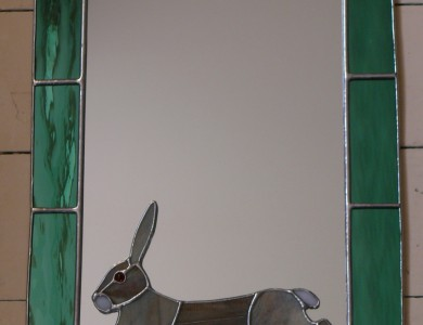 Running Hare Mirror (small)