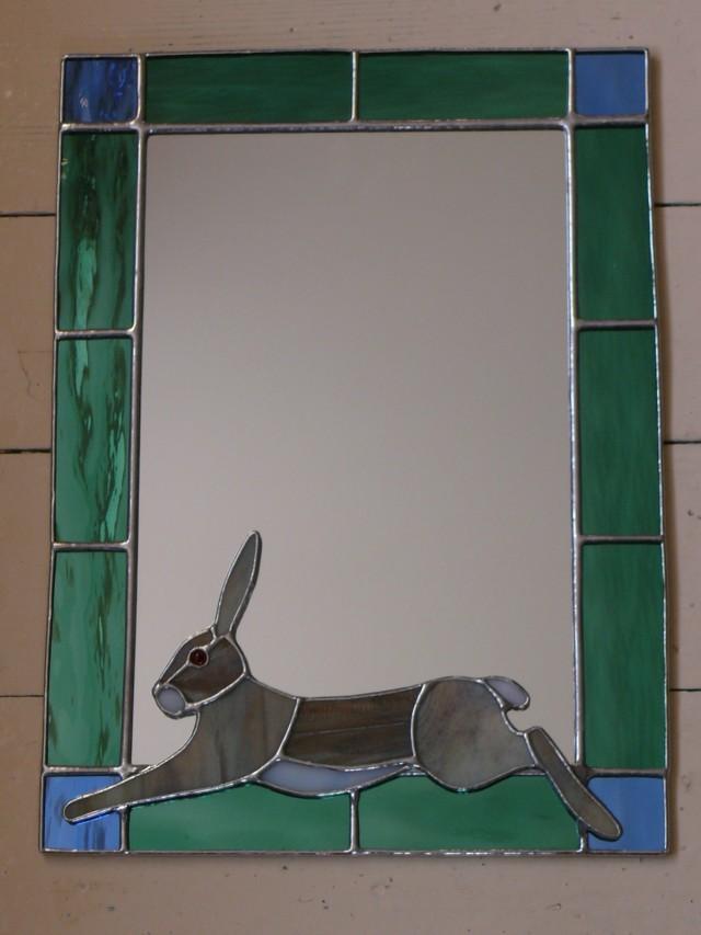 Running Hare Mirror (small)