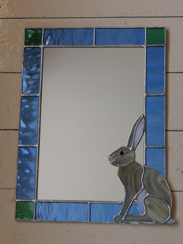 Sitting Hare Mirror